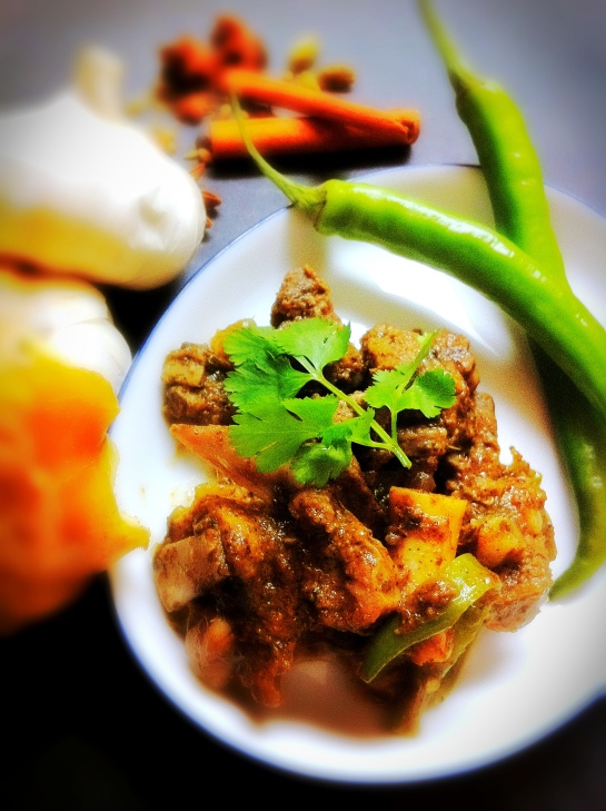 Spicy Mutton/Goat Curry